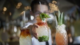 In the mix: Mezcal Queenspark Swizzle