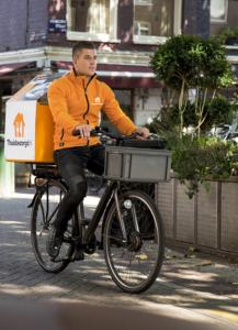 Thuisbezorgd.nl fiets elektrisch