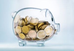 spaarvarken geld euro misset horeca