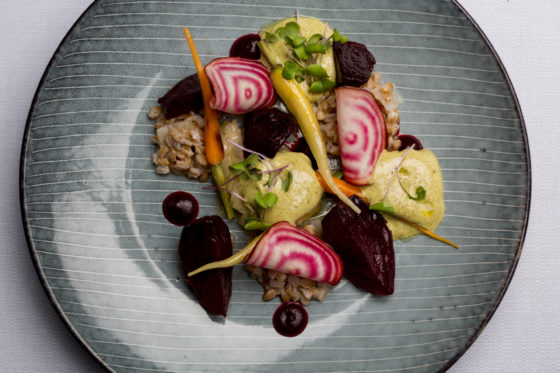 225905 swych beetroots and spelt with young onions and spinach hollandaise d765f4 original 1475062182 560x373