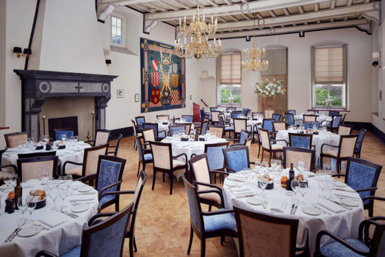 Events maria van hongarije zaal dinner 560x373