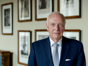 2014-09-23 10:57:35 DEN HAAG - Portret van VVD Eerste-Kamerlid Frank van Kappen. ANP ROBIN VAN LONKHUIJSEN
