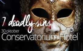 'Zondig' Halloween-diner Schilo van Coevorden