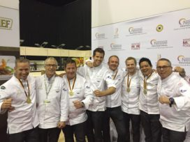 Goud voor Culinary Team The Netherlands