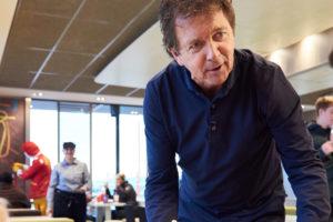 Robert ten Brink nieuwe eigenaar van café Heuvel in Amsterdam