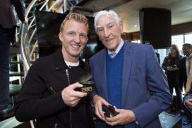 Dirk Kuyt ontvangt Gouden Mossel 2016