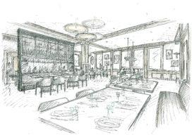 Industrieele Groote Club verbouwt restaurant