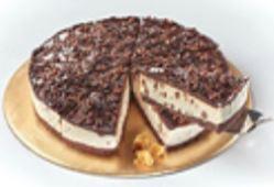 Red velvet cake en white chocolate & honeycomb cheesecake