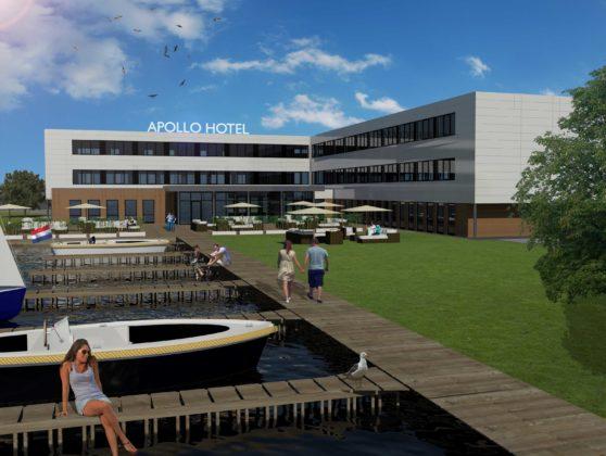 Impressie pand apollo hotel vinkeveen amsterdam 558x420