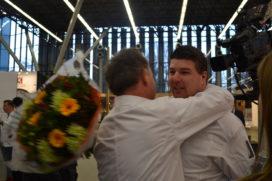 Marco Helsloot van Merlet (*) in tranen om winst NK jonge koks