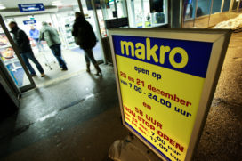 Makro: negatieve omzet en last van scherpe concurrentie