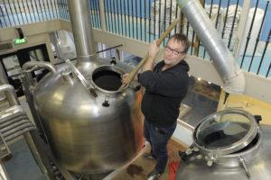 Mede-oprichter Fer Kok van brouwerij Prael