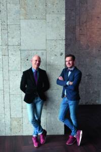 Eric van Boven en Jeroen van der Hek, Bar Beton, Utrecht, AR BETON. MISSET HORECA  @Studio Kastermans/Danielle van Coevorden