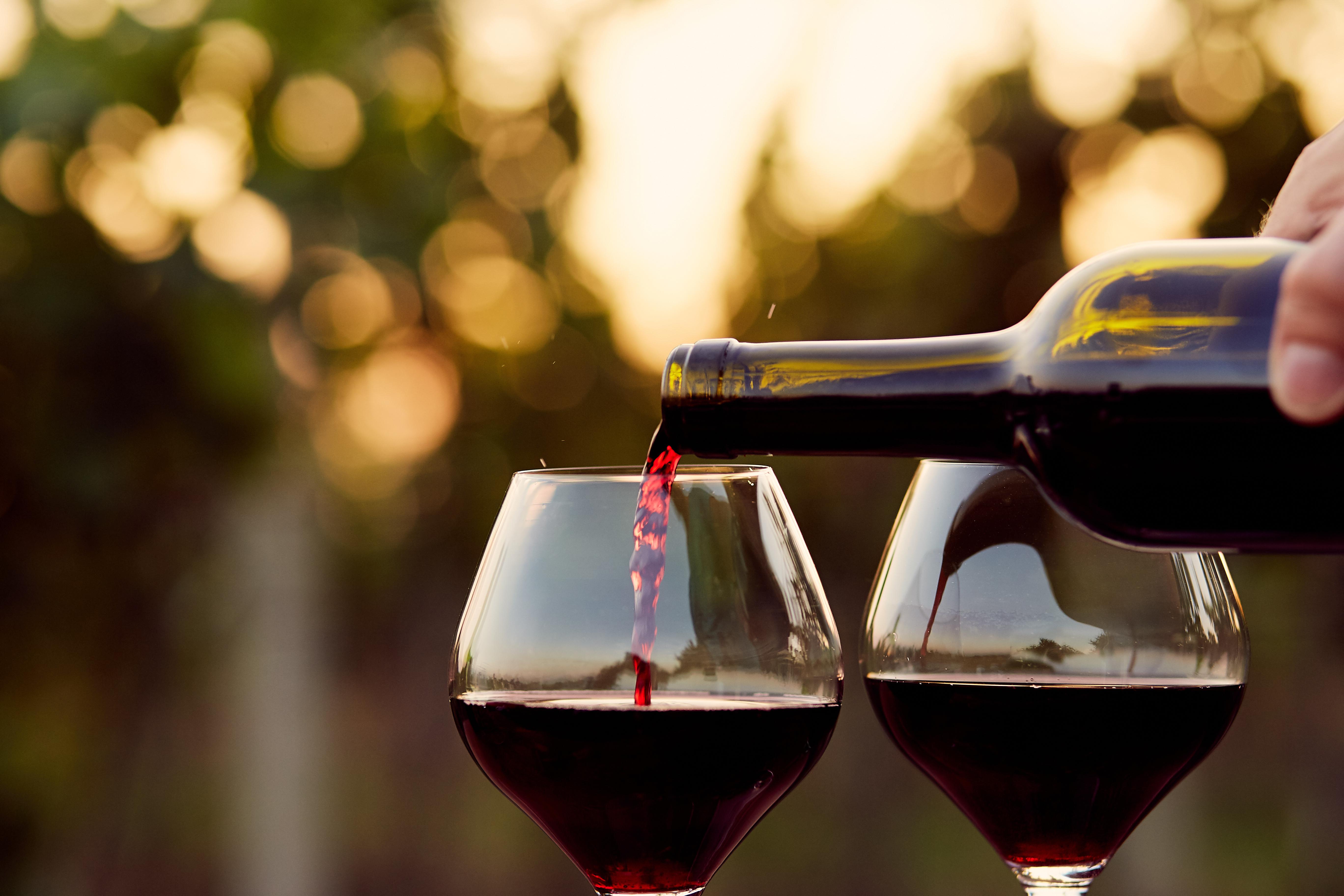 Lichte Rode Wijn : Hoe serveer ik wijn