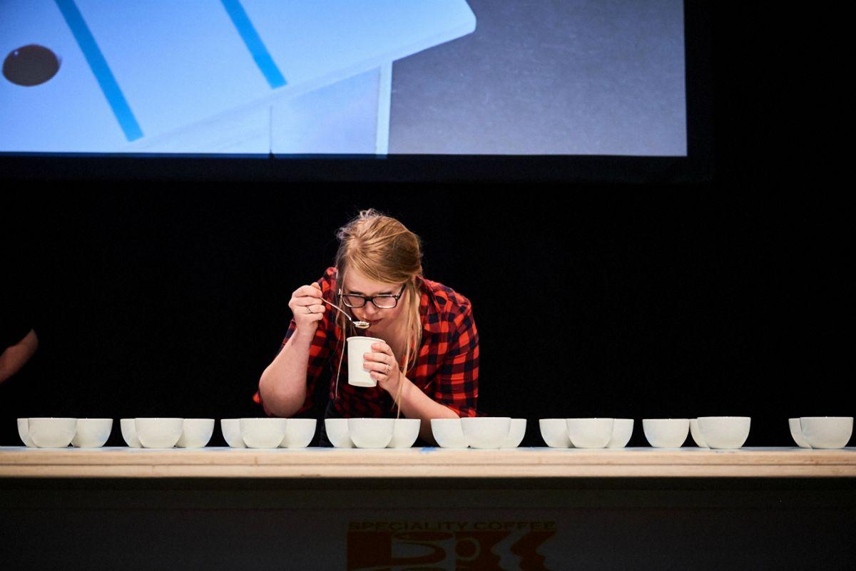 Dutch Cuptasting Championship Amsterdam Coffee Festival