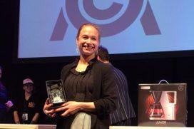 Esther Maasdam is beste cuptaster van Nederland 2017