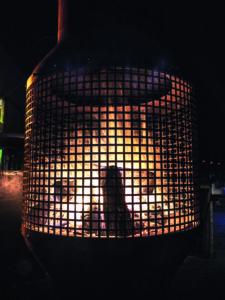 Houthaard als terrasverwarming