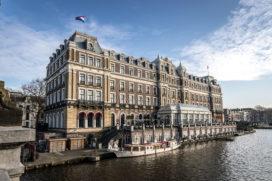 'Amstel Hotel staat in etalage'