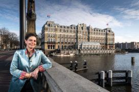 Anita Bos over 150 jaar Amstel Hotel en plannen voor de toekomst