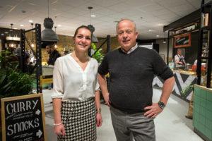 Maaike de Reuver (We Canteen) en Cormet-directeur Rijkent Cornelius