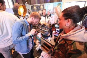 Amsterdam Coffee Festival: foto's dag 1