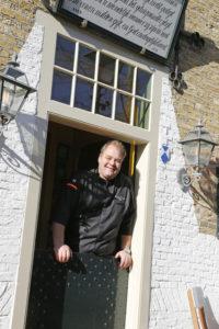 Ronald Tausch, chef-kok van Het Armhuis