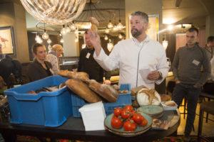 Omar Dahak; de boterlap; keukentips Terras