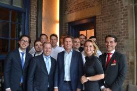 Oud-collega's eren 'culinair directeur' Alain Alders van De Vrienden van Jacob(*)
