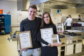 Winnaars Bokkedoorns Award: Joeri Weidman en  Fabienne Bakker