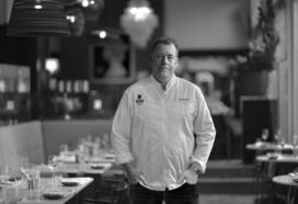 Restaurant 'Nacarat' van Ron Blaauw in Hudson's Bay op het Rokin