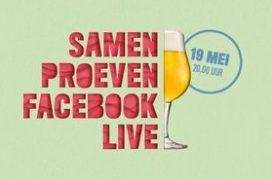 'Dat Smaakt Naar Bier: online proeverij: live op Facebook