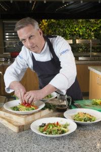 Karel van Tiel, executive chef Albron