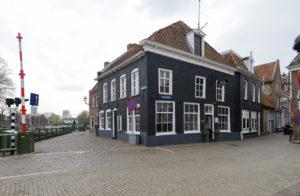 Kaatje bij de sluis in Blokzijl