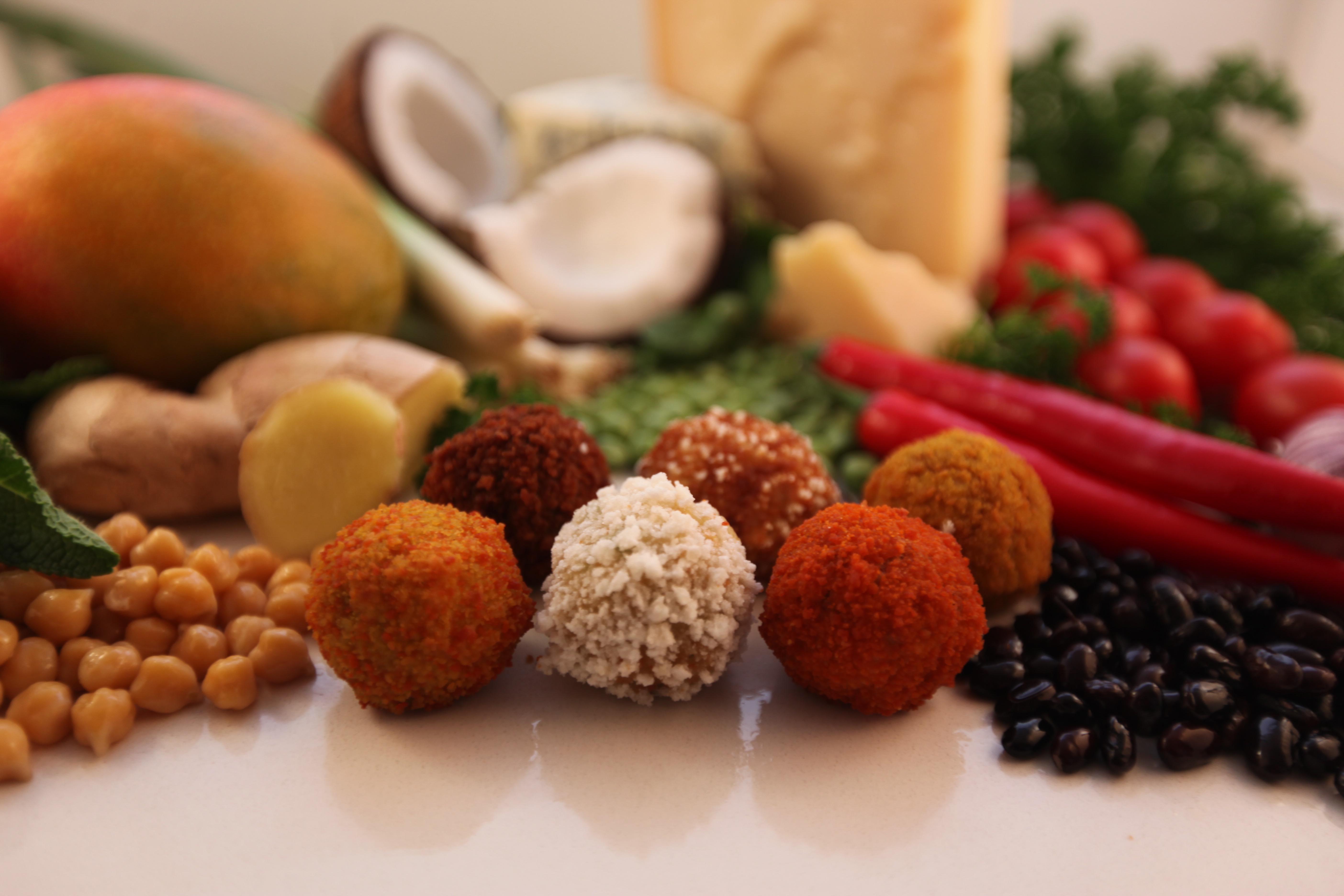 Zeven Innovaties Op Het Gebied Van Fingerfood Van Vegetarische