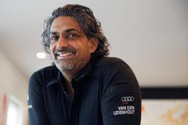 Soenil Bahadoer maakt gerechtjes voor restaurants 't Zusje