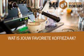 Spanning in Publieksprijs Koffie Top 100 2017: Doppio Joure aan kop