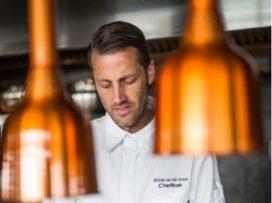 Michiel van der Kroon chef-kok bij Floor17 Amsterdam