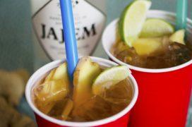 Recept Jajem-cocktail: Red Light Mule met gembersmaak