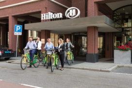 Hilton Den Haag introduceert vergaderen met 'Bike Break'