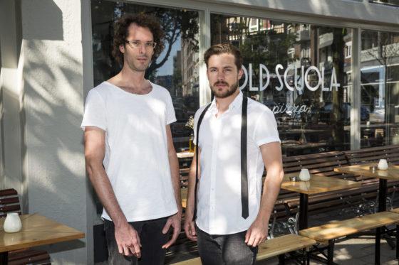 (C)Roel Dijkstra-Vlaardingen - Foto Dennis Wisse  Rotterdam / Old Scuola Pizzaria / Marco Zander en Daniel van der Stel