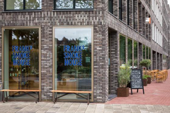 AMSTERDAM, 3 Augustus 2017: Frank's Smokehouse te Amsterdam. © 2017 Sebastiaan Rozendaal