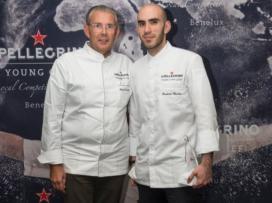 Frederic Chastro wint S.Pellegrino Young Chef Benelux