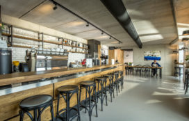 Horecainterieur: Blommers Bar in Nijmegen
