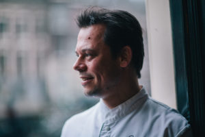 Rogier van Dam van Lastage kookte net als Ron Blaauw bij Nobel