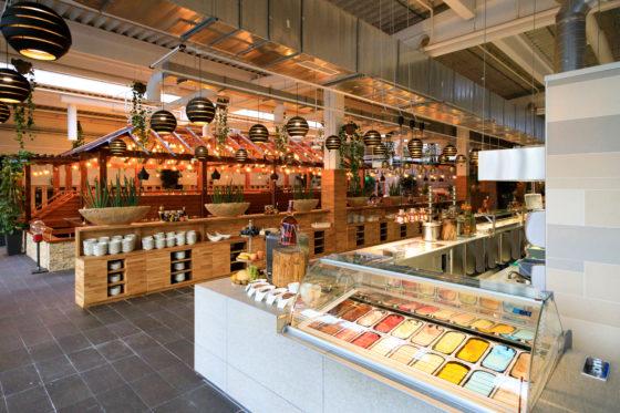 nederlands restaurant watertuin met 800 zitplaatsen naar wenen
