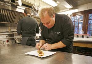 Het Armhuis Vlieland, chef-kok Ronald Tausch