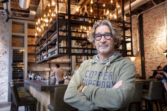 (c) Roel Dijkstra / Foto: Joep van der Pal   Leiden - Restaurant Moscow - eigenaar Ron