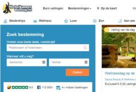 Hotelkamerveiling.nl breidt veilingaanbod uit met sauna's