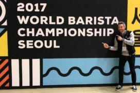 Merijn Gijsbers 16e op World Barista Championship 2017