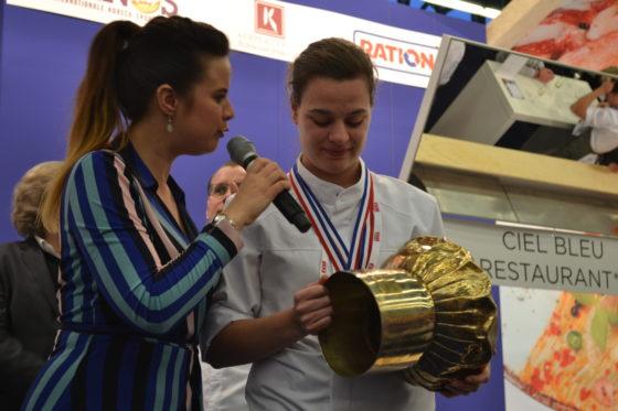 Marleen Brouwer van De Loohoeve, met Gouden Koksmuts 2018